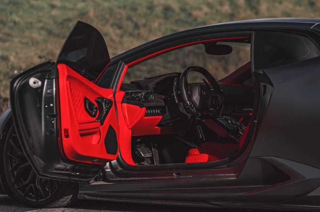 Lamborghini Huracan Leather & Forged Carbon